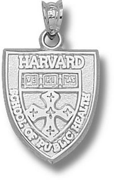 Harvard Public Health School Shield Pendant - Sterling Silver Jewelry: You often see shirts, caps and… #Sport #Football #Rugby #IceHockey