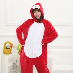 Thick flannel daughter mothers matching clothes cartoon animals pajamas - selling products Shuipao family installed 5