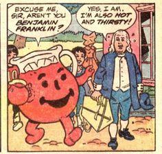That time Benjamin Franklin got really bad hallucinations