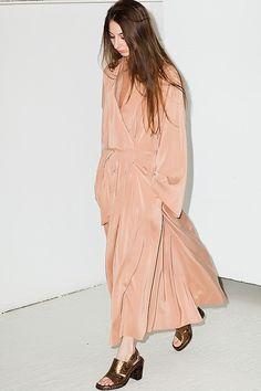 peach #style #fashion #dress