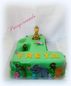 Patry's Cake: Jungle cake