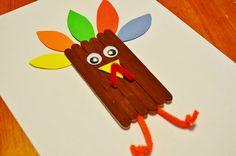 Thanksgiving Turkey Craft Sticks Craft for Kids thank. , Thanksgiving Turkey Craft Sticks Craft for Kids thank. Thanksgiving Crafts For Toddlers, Thanksgiving Crafts For Kids, Thanksgiving Activities, Craft Activities For Kids, Preschool Crafts, Holiday Crafts, Thanksgiving Turkey, Craft Kids, Kids Crafts