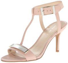 Nine West Women's Gelosia Dress Sandal Bridesmaid Shoes, Pumps, Heels, Dress Sandals, Pink Leather, Nine West, Dresses For Sale, Stuff To Buy, Amazon