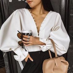 Best Spring Outfits Casual Part 13 Classy Outfits, Casual Outfits, Fashion Details, Fashion Tips, Fashion Design, Fashion Websites, Fashion Brands, Paris Mode, White Fashion