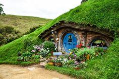 Träumt ihr von einer Reise ins Auenland? In Hobbiton in Neuseeland wird der Traum wahr. Reist mit mir nach Mittelerde ins Zuhause der Hobbits!