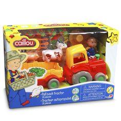 Juguete CAILLOU TRACTOR CON ANIMALES Precio 23,72€ en IguMagazine #juguetesbaratos
