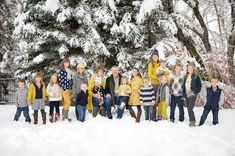 Last year was the first year that we took a real fall photo. I can actually say that I spent some time deciding on the fall colors for everyone and raiding closets for possible color combos. I fina...