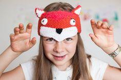 Check out this item in my Etsy shop https://www.etsy.com/uk/listing/249494429/fox-hat-fox-headband-animal-hat-fox