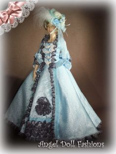 Blue gown for my Princess
