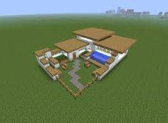 """Résultat de recherche d'images pour """"minecraft modern house tutorial step by step"""""""