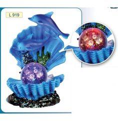 ARREDO CONCHIGLIA CON DELFINI ILLUMINATA  #petshouseacerra    14,00 €    Clicca sul link -> http://www.pets-house.it/decorazioni/75-arredo-conchiglia-con-delfini-illuminata-8000000014153.html