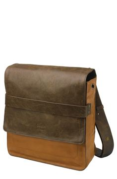 Lovely leather messenger.