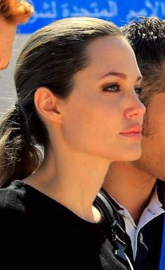 Angelina Jolie visiting the Syrian refugee camp Zaatari in Jordan