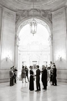 An Intimate San Francisco City Hall Wedding