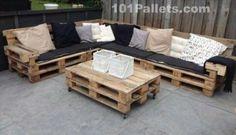 Pallet Furniture   101 Pallets - Part 7
