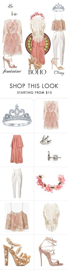"""""""Giselle"""" by cute-but-psycho-123 ❤ liked on Polyvore featuring Disney, Chi Chi, Boohoo, Marc by Marc Jacobs, Delpozo, Miss Selfridge, MANGO, Jessica Simpson, Dsquared2 and Jimmy Choo"""
