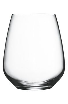 Luigi Bormioli 'Crescendo' Stemless Wine Glasses (Set of 4) available at #Nordstrom