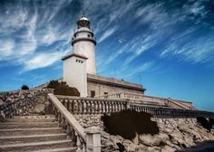 """500px / Photo """"lighthouse at Cape Formentor"""" by Alexey Usoltsev"""