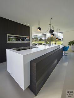 Modern Kitchen Cabinets, Kitchen Cabinet Design, Modern Kitchen Design, Interior Design Kitchen, Interior Modern, Pantry Design, Minimalist Kitchen, Cuisines Design, Design Moderne