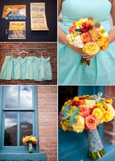 21. Fall colors mixed with a pop of turquoise creates a more modern looking fall color palette.  Use the photo above as color inspiration and create a layout that includes at least four of the colors featured above.  – 1 pt.