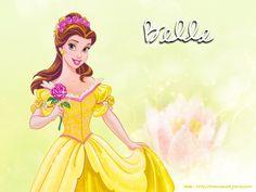 Princess Belle - disney-princess Wallpaper