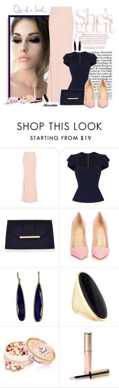 """""""nr 818 / Maxi Skirt"""" by kornitka ❤ liked on Polyvore featuring Alexander McQueen, Roland Mouret, Accessorize, Christian Louboutin, WALL, Tom Ford and By Terry"""