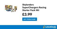 Skylanders SuperChargers Racing Starter Pack Wii, £3.99 at GAME