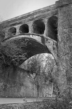 The Haunted Bridge of Danville, Indiana. The Concrete Railroad Trestle was built in the 1800's and the tale goes that while the trestle was being constructed an irish worker fell into a vat of hardening concrete only to be trapped therein. Since the tragedy there have been sightings of the worker's ghost stationed in the portals of the trestle waving a lantern back and forth.