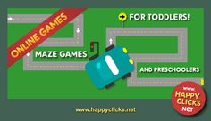 Maze games for kids to play online.