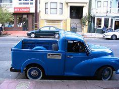 Morris mini truck Mini Trucks, Hot Rod Trucks, Old Trucks, Pickup Trucks, Classic Trucks, Classic Cars, Mini Morris, Morris Minor, Import Cars