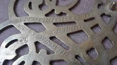 Image result for Thomas Jefferson iron trivet Yard Sale Finds, Thomas Jefferson, Iron, Image, Steel