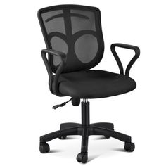 """Description: Approximate Size. Seat Size:18.1"""""""" x 16.9"""""""" x 2.2"""""""" (L&W&T) Backrest:16.3"""""""" x 17.9"""""""" Armrest Part:9.8"""""""" x 2"""""""" Armrest Height:9.4"""""""" Color:black. Package included:1 x Chair (All fittings) Dog... more details available at https://furniture.bestselleroutlets.com/home-office-furniture/home-office-desk-chairs/adjustable-chairs/product-review-for-topeakmart-swivel-chair-office-desk-c"""