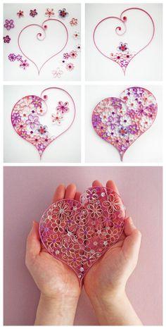 掐丝折纸艺术,装饰美好生活。利用平时剩下的材料,可以做成美美的折纸装饰哈