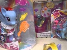 Shopping for my little pony toys at toys r us