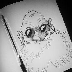 Pre watching Spirited Away sketch... #studioghibli #spiritedaway #anime #doodle #sketch #sketchbook #pensketch #penart #illustration #illustrator #student #ballpoint #pen #ink #drawing #blackandwhite