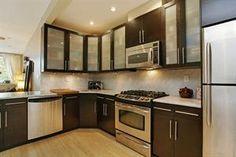 stainless steel appliances @ kitchen