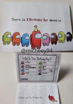 Bff Birthday Gift, Birthday Cards For Friends, Bday Cards, Birthday Gifts For Best Friend, 1st Boy Birthday, Creative Birthday Gifts, Birthday Present Diy, Birthday Presents For Friends, 1st Birthday Cards