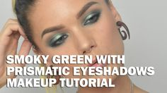 Smoky Green With Prismatic Eyeshadows (with subs) - Linda Hallberg Makeu...