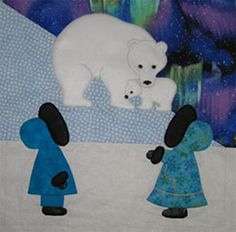 Sunbonnet Sue in Alaska Quilt Patterns from It& Sew Easy! Applique Quilt Patterns, Pattern Blocks, Applique Designs, Applique Ideas, Quilting Projects, Quilting Designs, Sewing Projects, Sunbonnet Sue, Quilt Baby