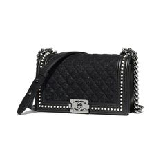 afdf65405c4b BOY CHANEL Handbag Tweed