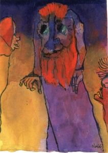 Red-bearded Treeman - Emil Nolde - The Athenaeum