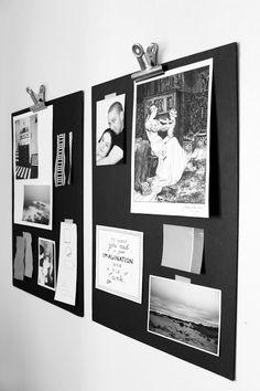 DIY mood board from foam board Exposition Photo, Idee Diy, Wall Decor, Wall Art, Deco Design, Home And Deco, Mood Boards, Office Decor, Interior Inspiration