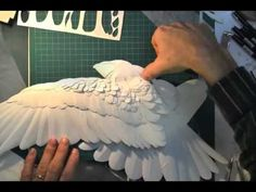 Canadian artist Calvin Nicholls' cut paper artworks come to life. - YouTube