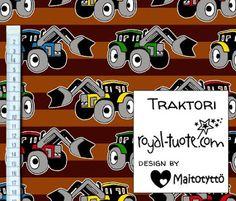 Trikoo Traktori, ruskea / Jersey Traktor Brown (Tulossa elokuussa / Upcoming in August)