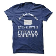 Pennsylvania 4 Ithaca Country! - #gifts for boyfriend #gift for mom. SATISFACTION GUARANTEED => https://www.sunfrog.com/Sports/Pennsylvania-4-Ithaca-Country.html?68278