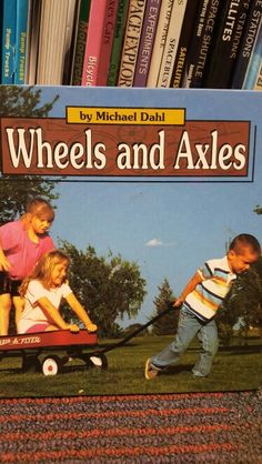 This book describes the different kinds and uses of wheels and axles.