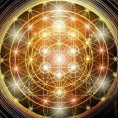 Flower of Life / Tree of LIfe / Ascension: Adam Kadmon Blueprint. Kaleidoscope Art, Rose Croix, Archangel Uriel, Yoga Studio Design, Secrets Of The Universe, Art Graphique, Visionary Art, Flower Of Life, Art Plastique