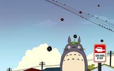 009 My Neighbor Totoro Hayao Miyazaki Cute Japan Anime Hayao Miyazaki, Cats Bus, My Neighbor Totoro, Bus Stop, Studio Ghibli, Neko, Fairy Tales, Pikachu, Anime Art