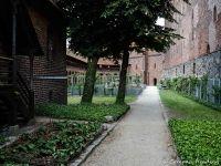 Malbork castle near Gdansk, Poland Malbork Castle, Gdansk Poland, High Castle, Castle Wall, Royal Residence, Historical Monuments, Fortification, Gothic Architecture, Medieval Castle