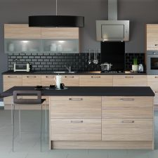Upgrade your home with the modern kitchens and contemporary kitchen designs from Interiors by Daniel James. Get on trend by booking a free consultation today. Contemporary Kitchen Inspiration, Contemporary Kitchen Design, Symphony Kitchen, Open Plan Apartment, Kitchen Confidential, Kitchen Gallery, Kitchen Collection, Hacks, New Kitchen